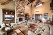 Craftsman Style House Plan - 3 Beds 4.5 Baths 3959 Sq/Ft Plan #892-16 Interior - Family Room