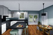 Farmhouse Style House Plan - 2 Beds 2 Baths 1311 Sq/Ft Plan #44-227 Interior - Family Room