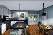 Farmhouse Style House Plan - 2 Beds 2 Baths 1311 Sq/Ft Plan #44-227 Interior - Family Room