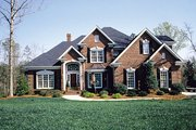 Traditional Style House Plan - 5 Beds 4.5 Baths 3806 Sq/Ft Plan #453-32 Photo