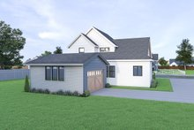 Architectural House Design - Farmhouse Exterior - Rear Elevation Plan #1070-40