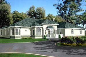 Traditional Exterior - Front Elevation Plan #1-846