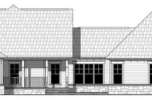 Country Exterior - Rear Elevation Plan #21-458