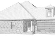 Traditional Style House Plan - 4 Beds 2.5 Baths 2802 Sq/Ft Plan #63-168 Exterior - Other Elevation
