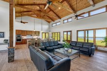 House Plan Design - Ranch Interior - Family Room Plan #140-149