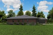 Contemporary Style House Plan - 3 Beds 2.5 Baths 2639 Sq/Ft Plan #48-958