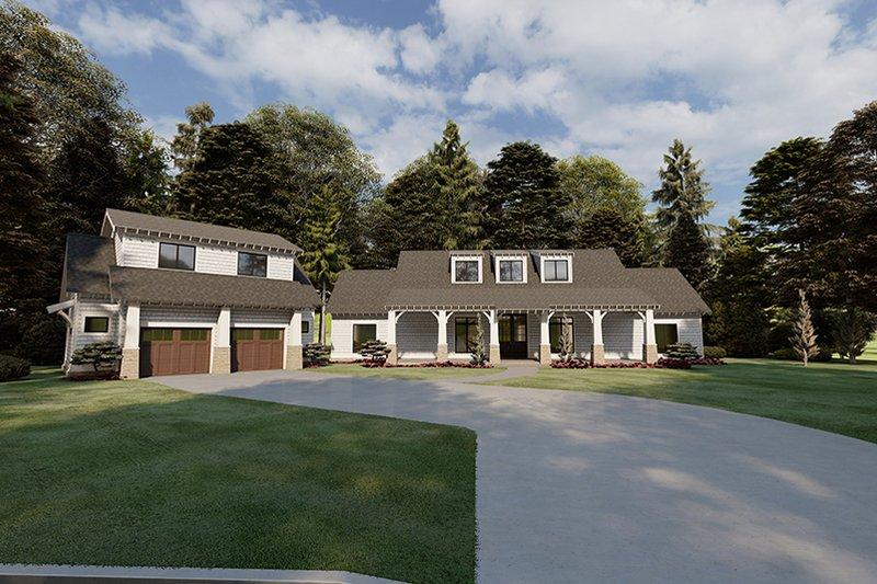 House Plan Design - Farmhouse Exterior - Front Elevation Plan #923-170