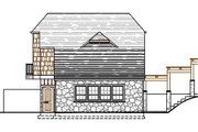 Craftsman Style House Plan - 1 Beds 1 Baths 642 Sq/Ft Plan #487-3 Exterior - Other Elevation