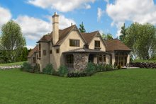 Home Plan - European Exterior - Rear Elevation Plan #48-625