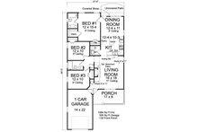 Cottage Floor Plan - Main Floor Plan Plan #513-2187