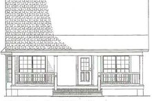 House Plan Design - Cottage Exterior - Other Elevation Plan #17-2139