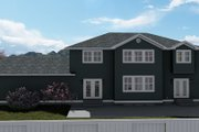 Craftsman Style House Plan - 5 Beds 3 Baths 3223 Sq/Ft Plan #1060-55 Exterior - Rear Elevation