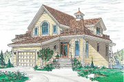 Traditional Style House Plan - 4 Beds 2 Baths 2348 Sq/Ft Plan #23-415 Photo