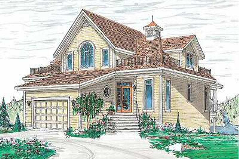 Traditional Photo Plan #23-415 - Houseplans.com