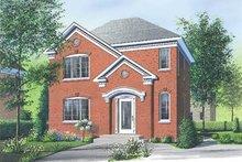 Dream House Plan - European Exterior - Front Elevation Plan #23-2112