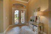 Mediterranean Style House Plan - 4 Beds 4 Baths 3012 Sq/Ft Plan #27-445 Interior - Entry