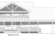 Country Style House Plan - 3 Beds 2.5 Baths 2450 Sq/Ft Plan #932-360 Exterior - Rear Elevation