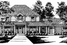 Traditional Exterior - Other Elevation Plan #40-151