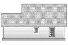 Country Exterior - Rear Elevation Plan #430-3