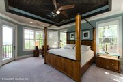 Craftsman Style House Plan - 4 Beds 4 Baths 3014 Sq/Ft Plan #929-937 Interior - Master Bedroom
