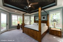 Craftsman Interior - Master Bedroom Plan #929-937