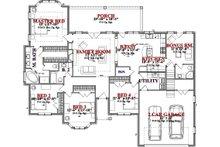 Traditional Floor Plan - Main Floor Plan Plan #63-360