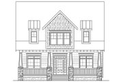 Bungalow Style House Plan - 4 Beds 2.5 Baths 2707 Sq/Ft Plan #419-291 Exterior - Front Elevation