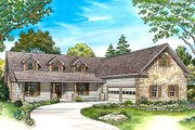 Country Style House Plan - 3 Beds 2.5 Baths 2444 Sq/Ft Plan #140-151