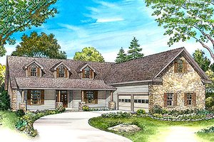 Front View - 2433 country home