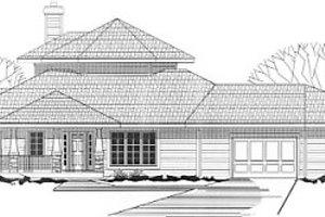Modern Exterior - Front Elevation Plan #67-213