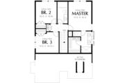 Cottage Style House Plan - 3 Beds 2.5 Baths 1454 Sq/Ft Plan #48-488 Floor Plan - Upper Floor Plan