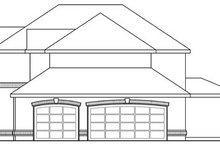 Home Plan - European Exterior - Other Elevation Plan #124-209