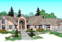 Traditional Exterior - Front Elevation Plan #60-222