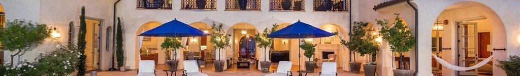Mediterranean House Floor Plan Designs with Courtyard