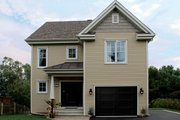 Traditional Style House Plan - 3 Beds 2 Baths 1584 Sq/Ft Plan #23-671 Exterior - Front Elevation