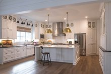Traditional Interior - Kitchen Plan #437-83