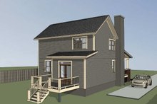 Bungalow Exterior - Other Elevation Plan #79-204