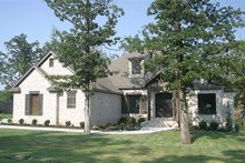 House Plan Design - European Exterior - Front Elevation Plan #17-2501