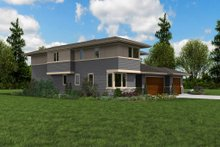 Architectural House Design - Contemporary Exterior - Other Elevation Plan #48-1005