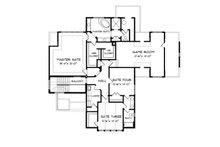European Floor Plan - Upper Floor Plan Plan #413-111