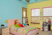 European Style House Plan - 4 Beds 4 Baths 4050 Sq/Ft Plan #80-160 Interior - Bedroom
