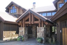 Dream House Plan - Craftsman style home, entry photo