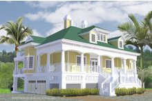 House Plan Design - Southern Exterior - Other Elevation Plan #930-18