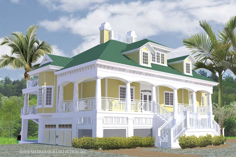 Southern Exterior - Other Elevation Plan #930-18 - Houseplans.com