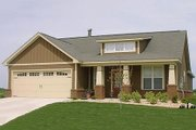 Bungalow Style House Plan - 3 Beds 2 Baths 1787 Sq/Ft Plan #63-183