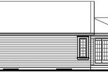 Home Plan - Exterior - Rear Elevation Plan #23-684