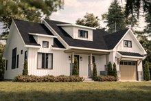 House Blueprint - Farmhouse Exterior - Front Elevation Plan #23-2746