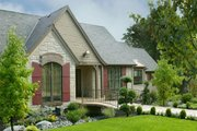 European Style House Plan - 3 Beds 2.5 Baths 3940 Sq/Ft Plan #48-430 Exterior - Other Elevation