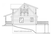 Log Exterior - Other Elevation Plan #117-122