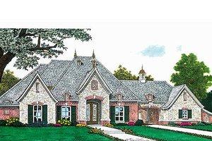 Architectural House Design - European Exterior - Front Elevation Plan #310-687